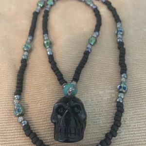 Wisdom Protector Skull Necklace