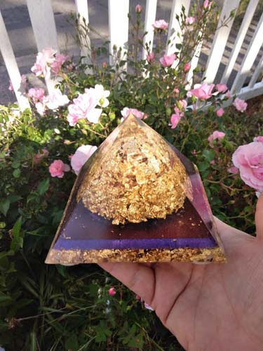 Alchemist Chamber Orgone Purple EMF Protection