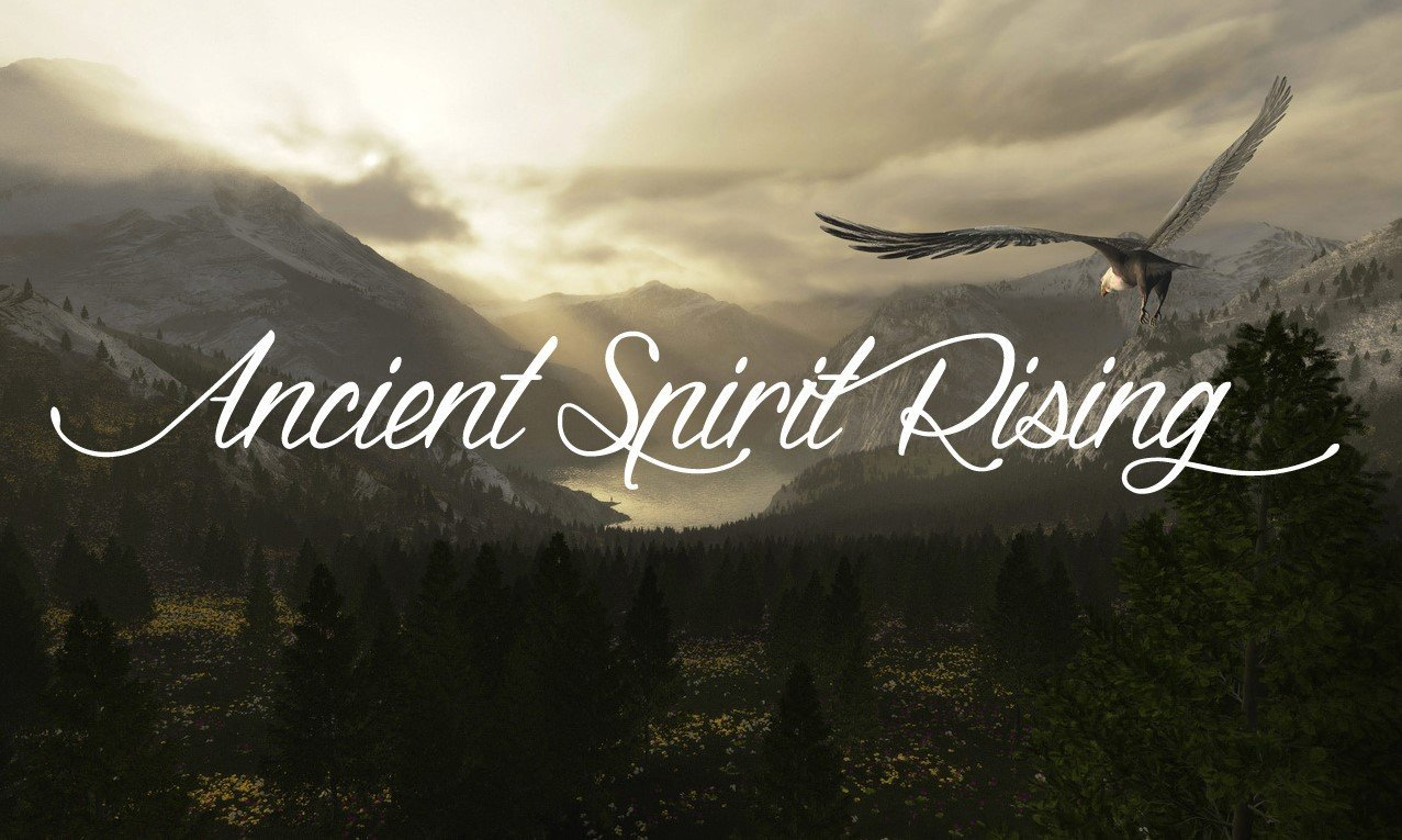 Ancient Spirit Rising Eagle Flying